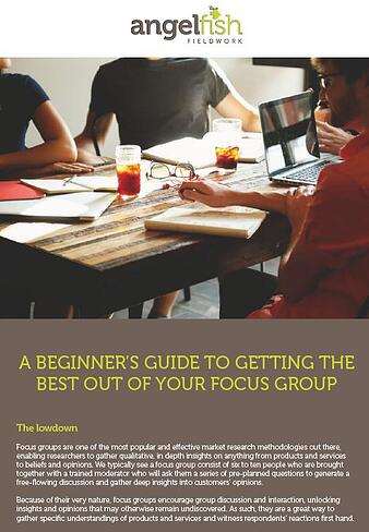 Beginner's guide to getting the best out of your focus group