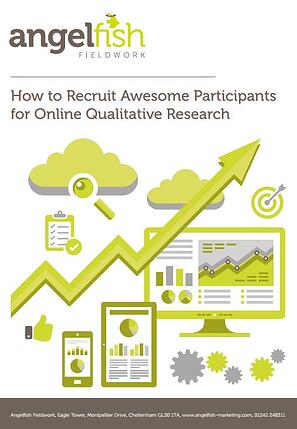 How to recruit awesome participants for online qualitative research