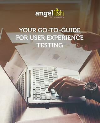 Go to guide for user experience testing
